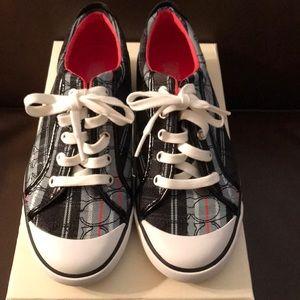 Coach 8.5m blk muti sneaker